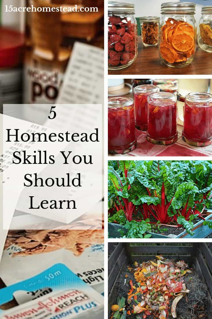 When we talk about homesteading, just as in any job, career, or lifestyle, certain skills are necessary. It doesn't matter where you homestead or even how you homestead, as these skills pertain to everyone.