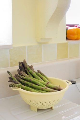 preserving asparagus