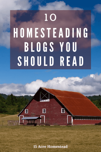 Every homesteader should have a list of resources to choose from.