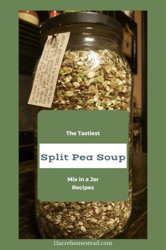 Tastiest Split Pea Soup Mix in a Jar