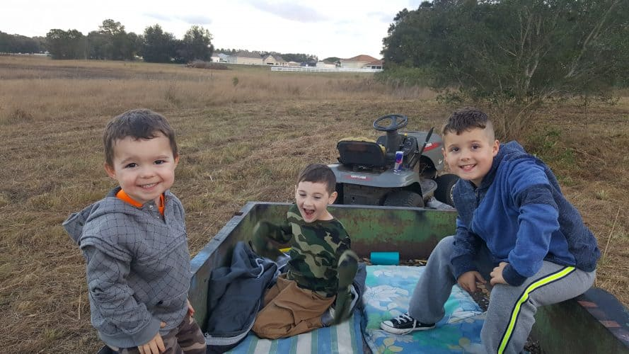 homesteading teaches kids to work together
