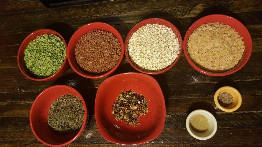 Split Peas Soup Ingredients