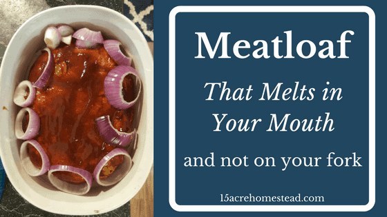 Meatloaf That Melts in Your Mouth Not on the Fork!
