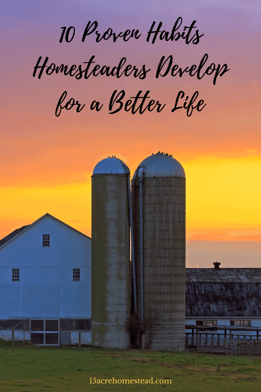 Use the habits homesteaders develop to make your homesteading journey more successful and rewarding by eliminating stress and allow for better productivity.
