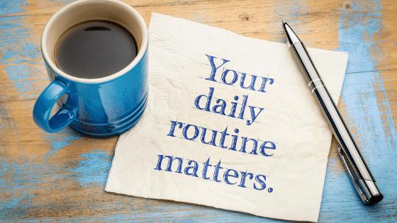 habits homesteaders develop surround a good routine