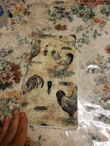 unfinished unpaper towel