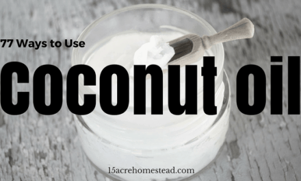 77 Ways to Use Coconut Oil