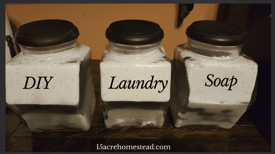 DIY Laundry Soap for a Whole Year