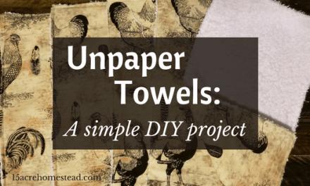 Unpaper Towels: A Simple DIY Project
