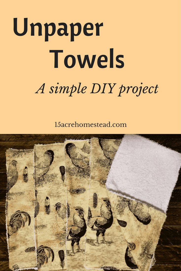 Saving money on paper towels is easy when you make DIY unpaper towels.
