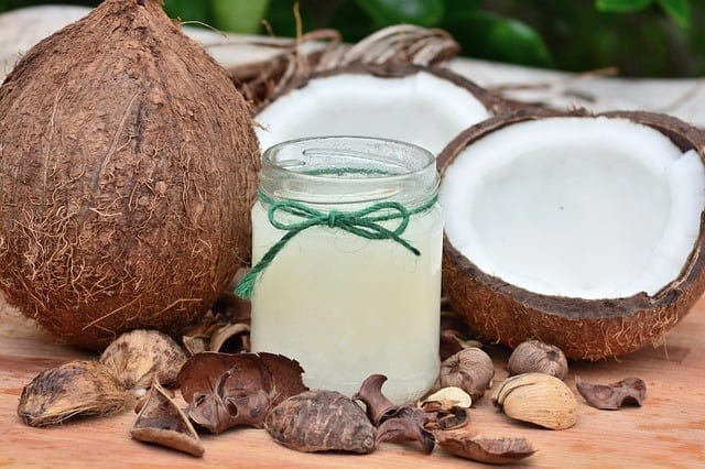 coconut and coconut milk