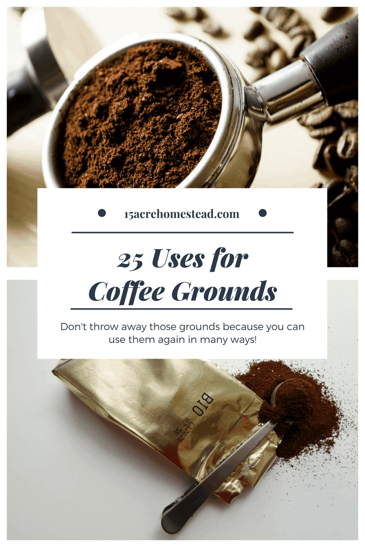 I'll bet you did not know that coffee grounds have so many uses around the homestead! Find out what they are here.