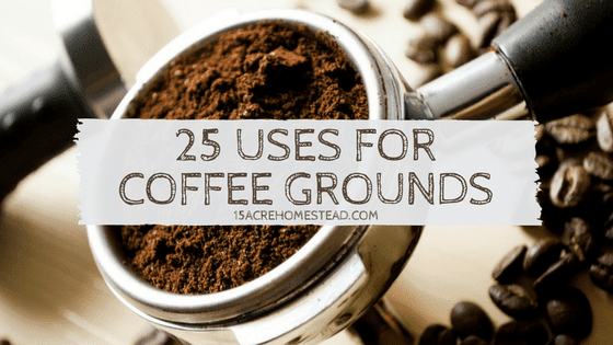 Coffee Grounds: 25 Uses on Your Homestead