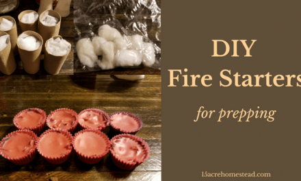 DIY Fire Starters for Prepping