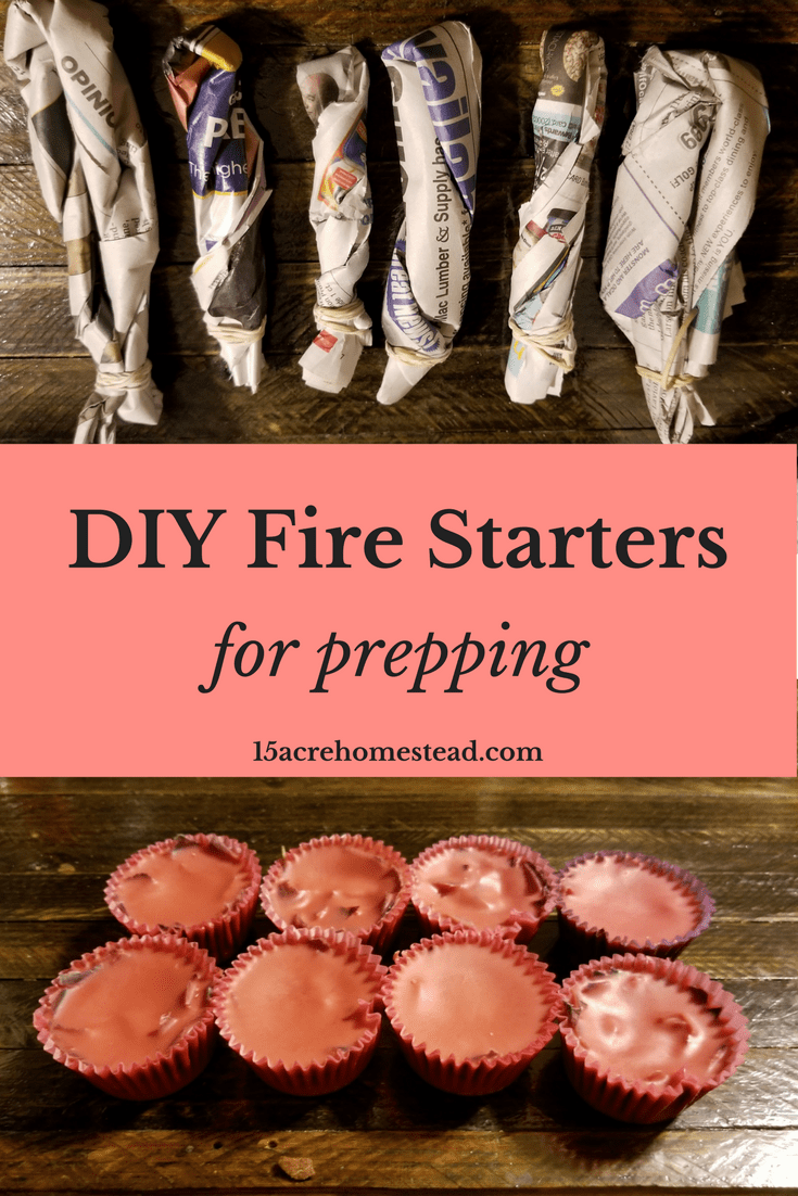 Make your own fire starters easily with everyday items.