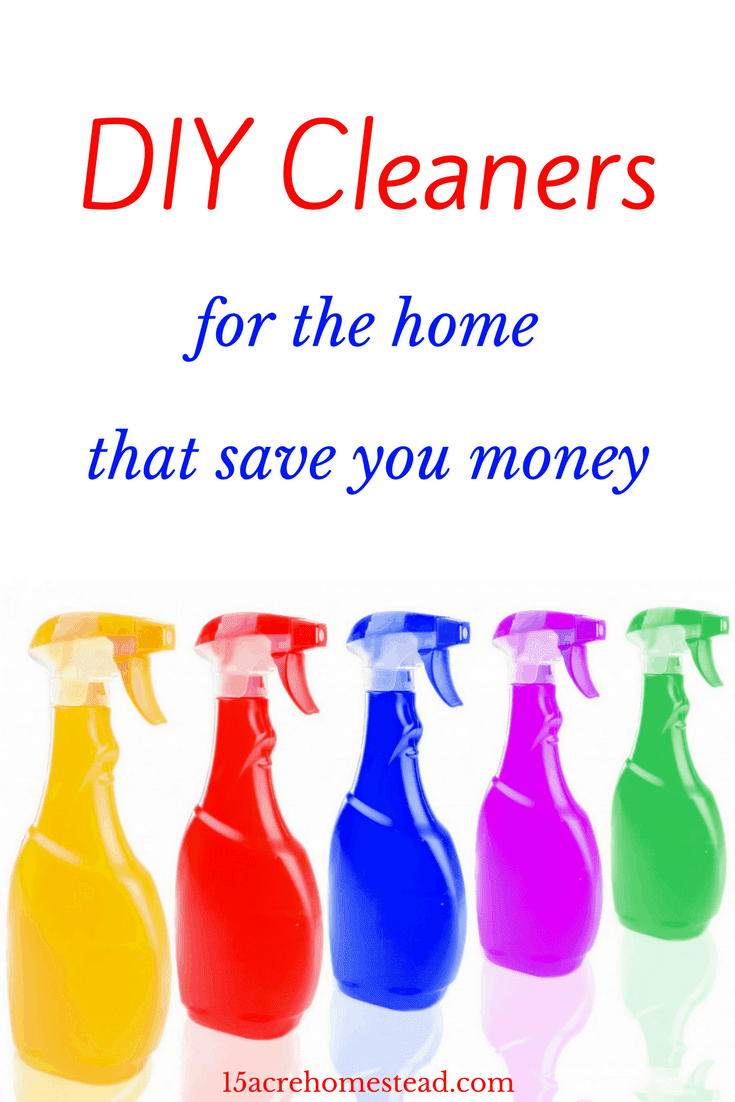Simple DIY cleaners you can make at home that will save you money.