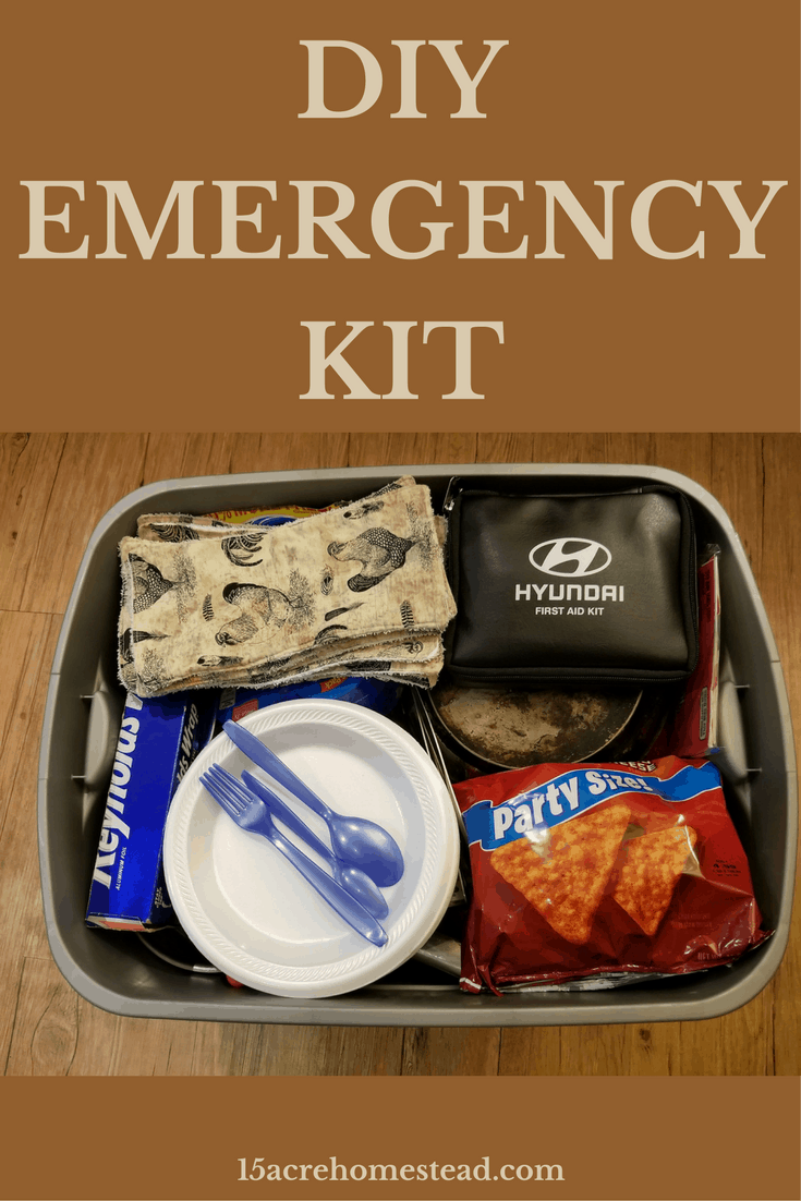 Stay prepared with your own DIY Emergency Kit.
