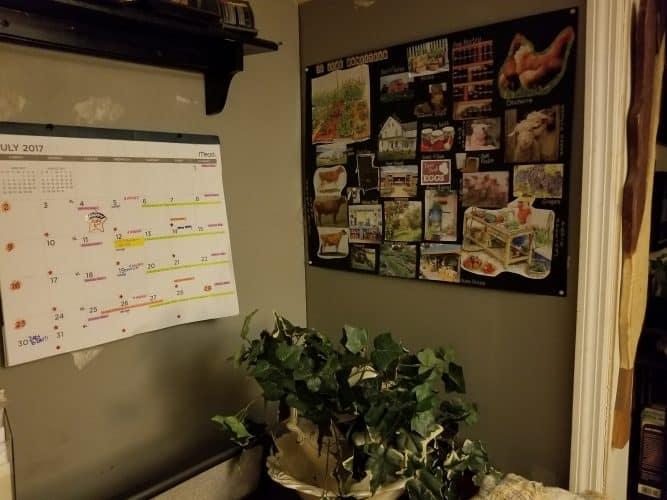 my homestead vision board