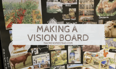 Making a Vision Board for your Homestead