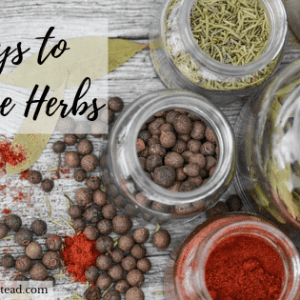 4 Important Ways to Preserve Herbs on the Homestead