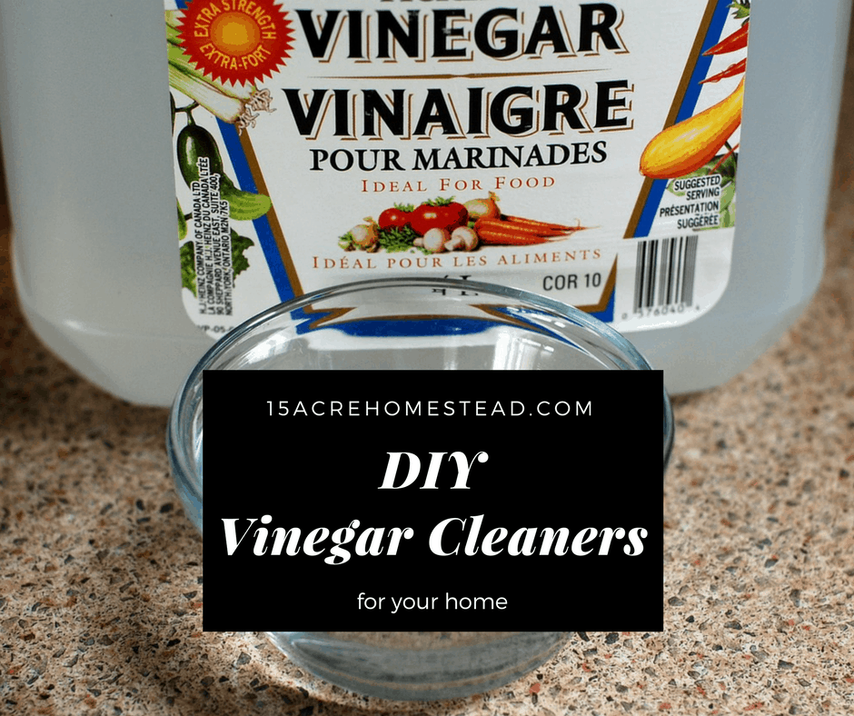 Diy Vinegar Cleaners Facebook Image 15 Acre Homestead