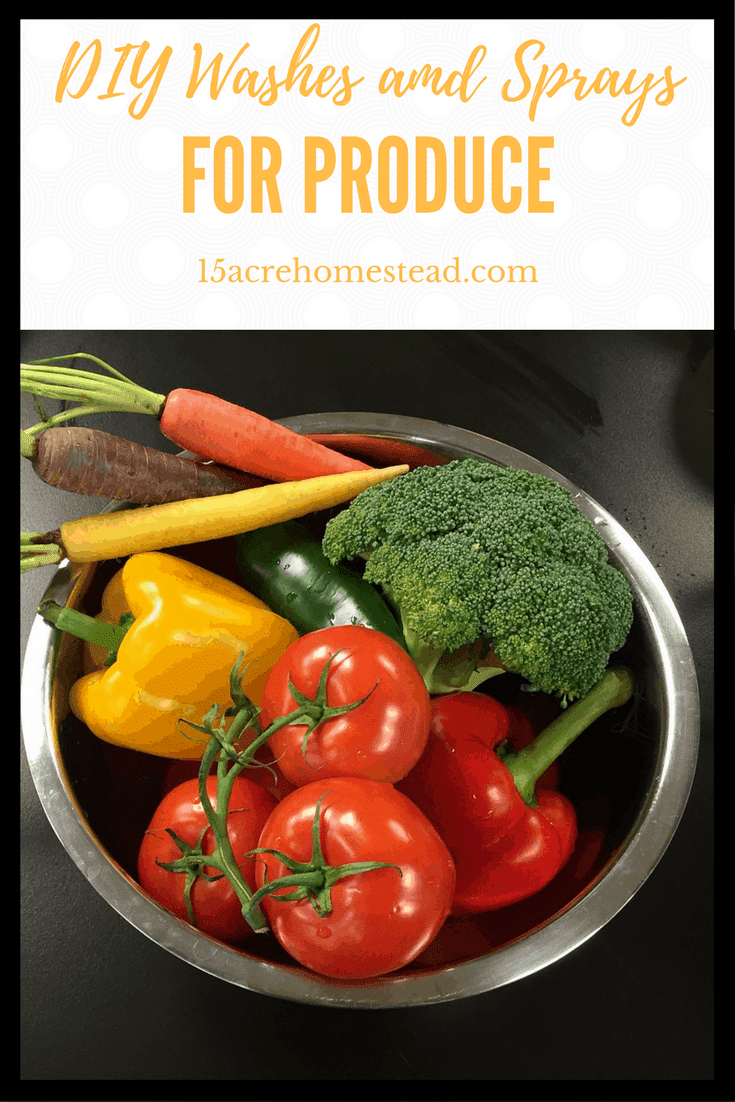 Making your own DIY washes and sprays for produce at home not only saves you money but allows your family to safely consume the produce you buy.