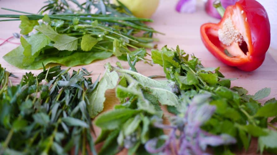 Using herbs is a great way to start living like a homesteader without a homestead.