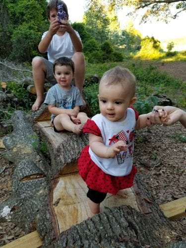 Homesteading choices can mean choosing where your grandkids will play.