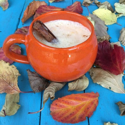 10 hot drink recipes for winter days and nights including a great warm pumpkin drink.