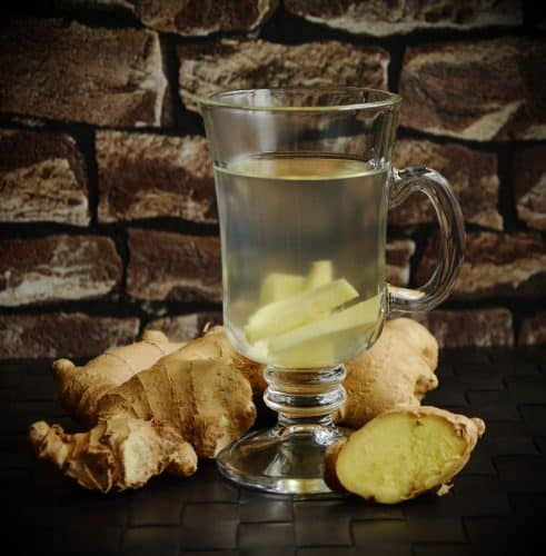 Ginger tea is one of the many hot drink recipes that not only warm the body but help fight cold and flu.