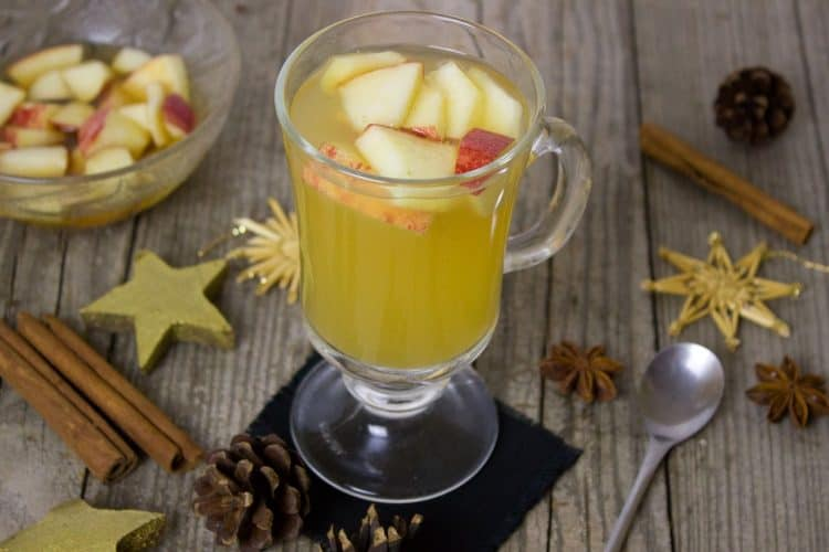 Hot Apple Cider is one of the hot drink recipes that keeps you warm in the winter.