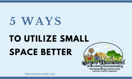 Five Ways to Utilize Small Space Better
