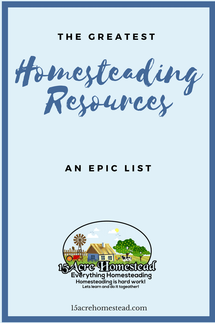 An epic list of the greatest homesteading resources for new homesteaders looking to learn new skills. Websites, YouTube Channels, E-books, courses and more.
