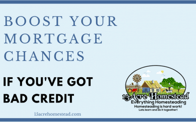 Boost Your Mortgage Chances If You've Got Bad Credit