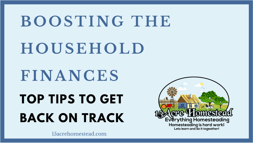 Boosting the Household Finances_ Tips to Get Back on Track