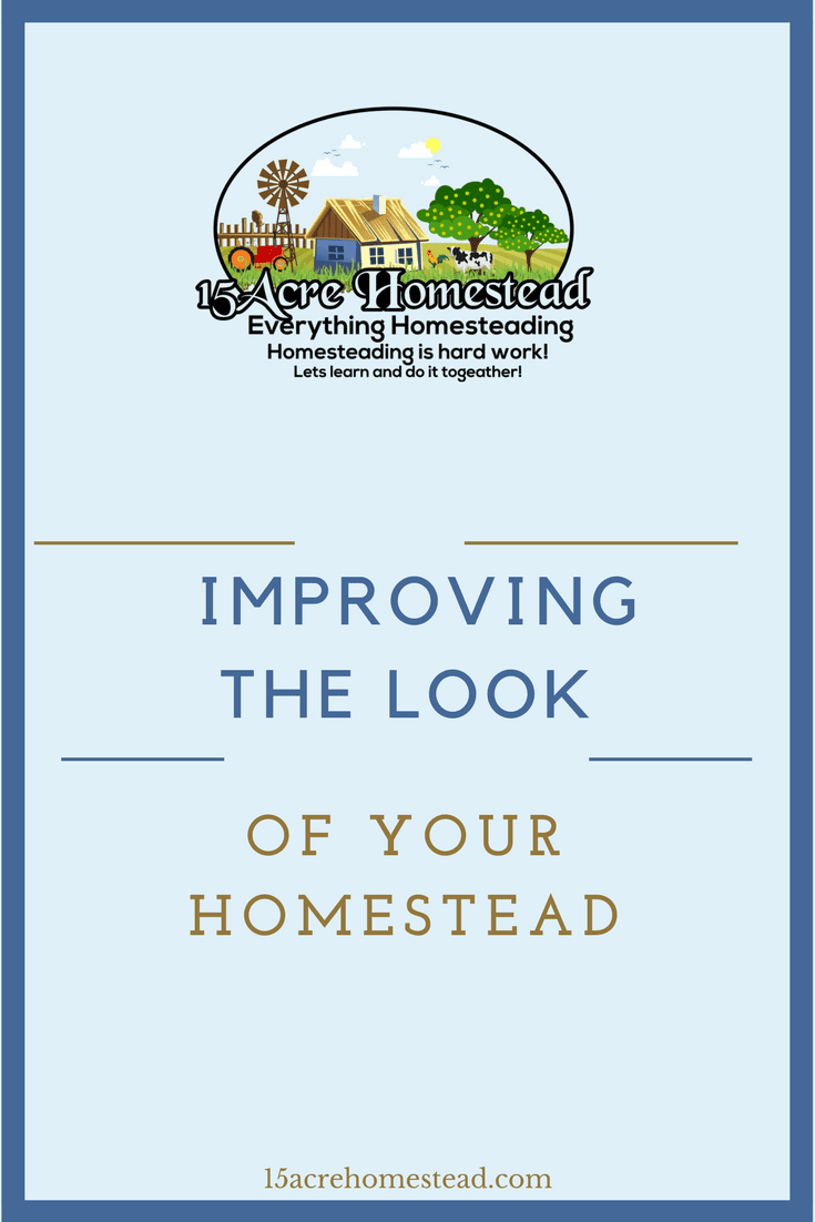 Improving the look of your homestead involves elements that bring a certain feeling of home to it.