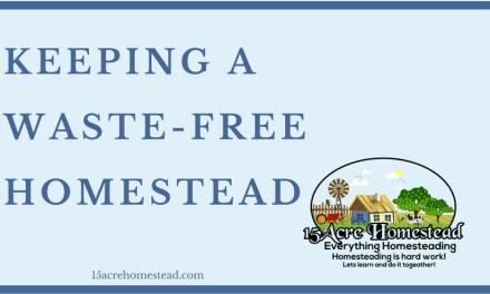 Keeping a Waste-Free Homestead