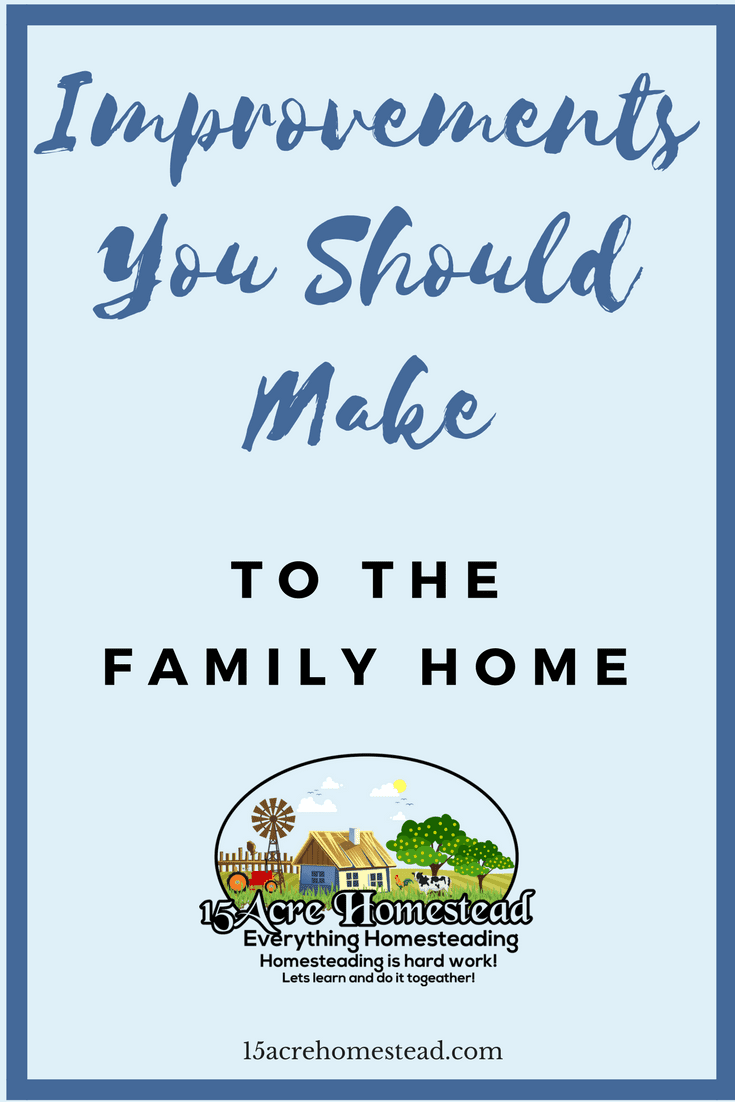 Learn the many ways you can improve your family home with these simple ideas.