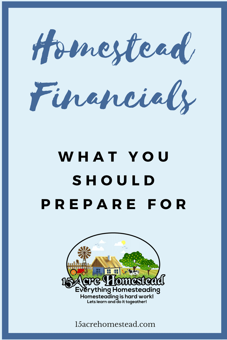 Planning your homestead financials is easy when you follow these steps.