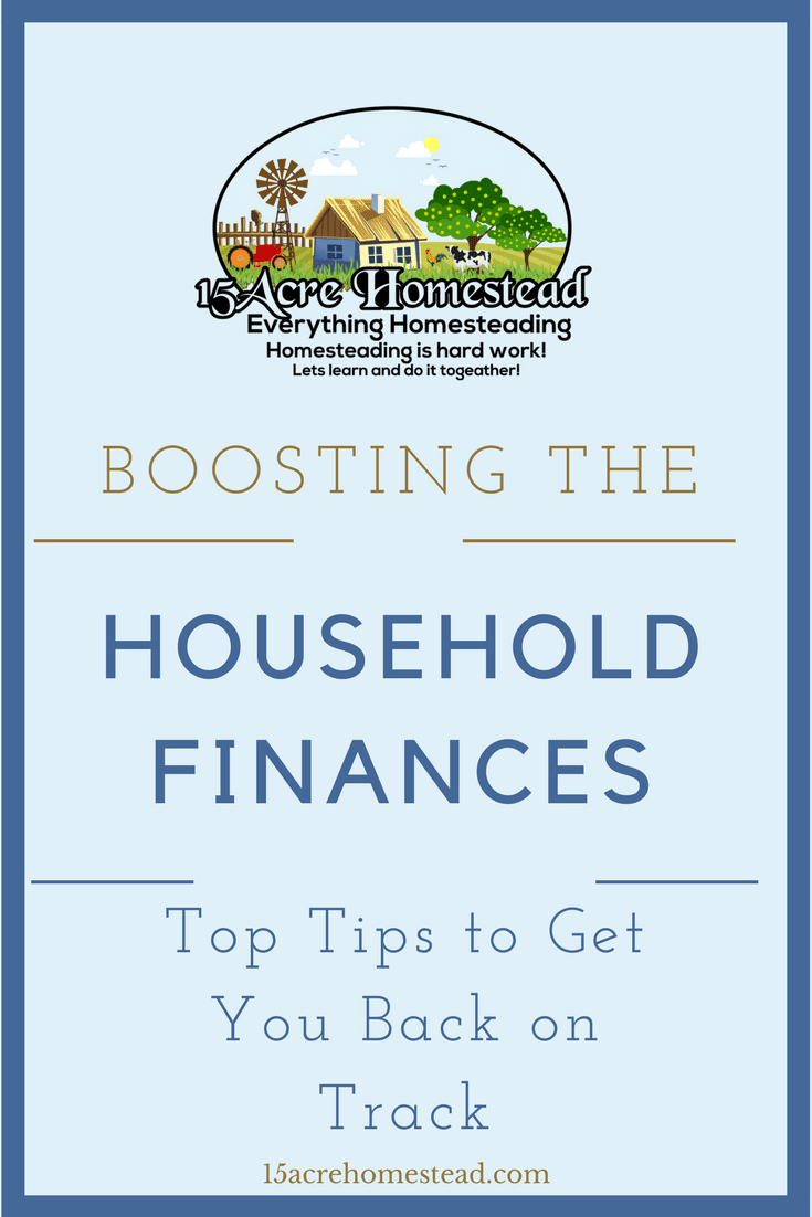 Some top tips to get your household finances back on track.