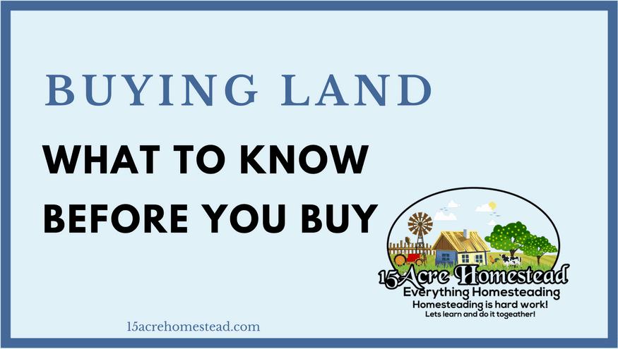 Buying land featured image