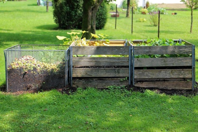 Building a compost pile and improving soil is one of the homesteading tips for new homesteaders to try.