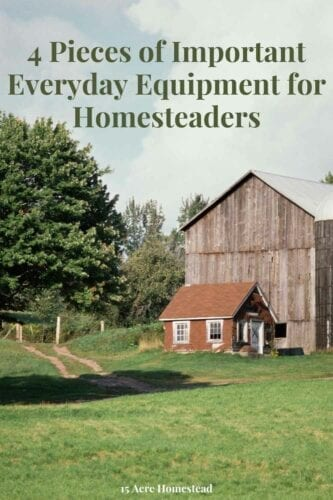 Although most people live in a city situation, homesteaders tend to live more rural. Since the number of things you will do may be the same, the everyday equipment you use for certain things might vary.