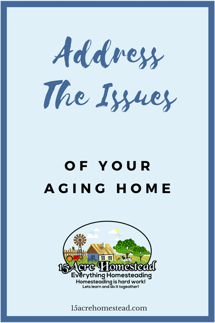 If you address the aging issues of your home before they become a project you can't fix without the help of a pro, you will be better off.