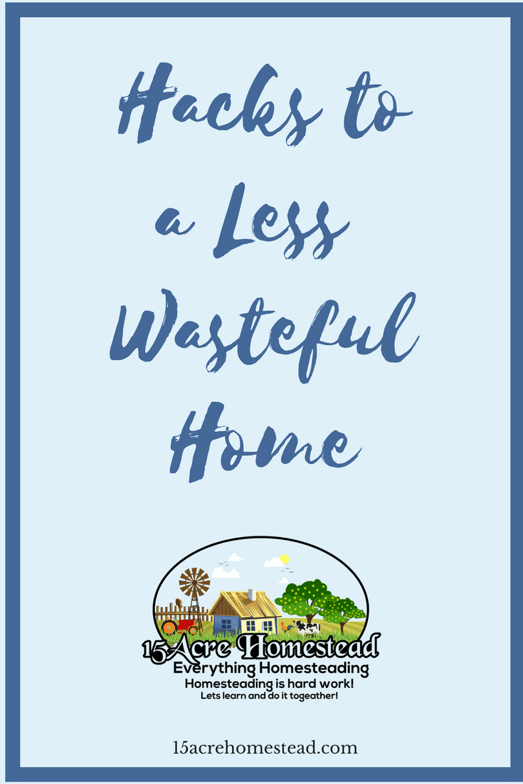 It is so easy to have a less wasteful home by doing these simple hacks.