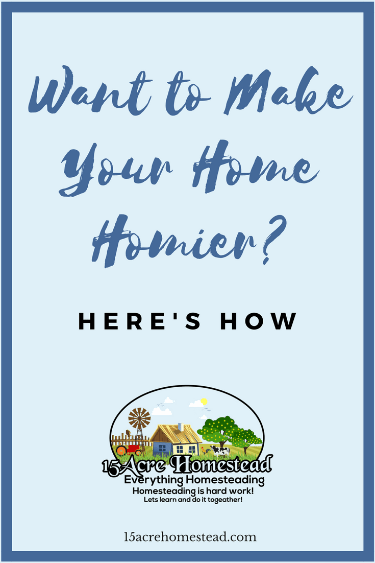 Living in a home that doesn't really have that homey feeling can be really frustrating. You want to be able to feel at home when you're spending time there. You can make your home homier.