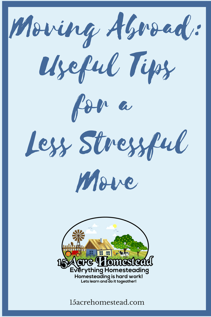 Moving to another country is a huge stress. Find out how to have a less stressful move by using these tips.