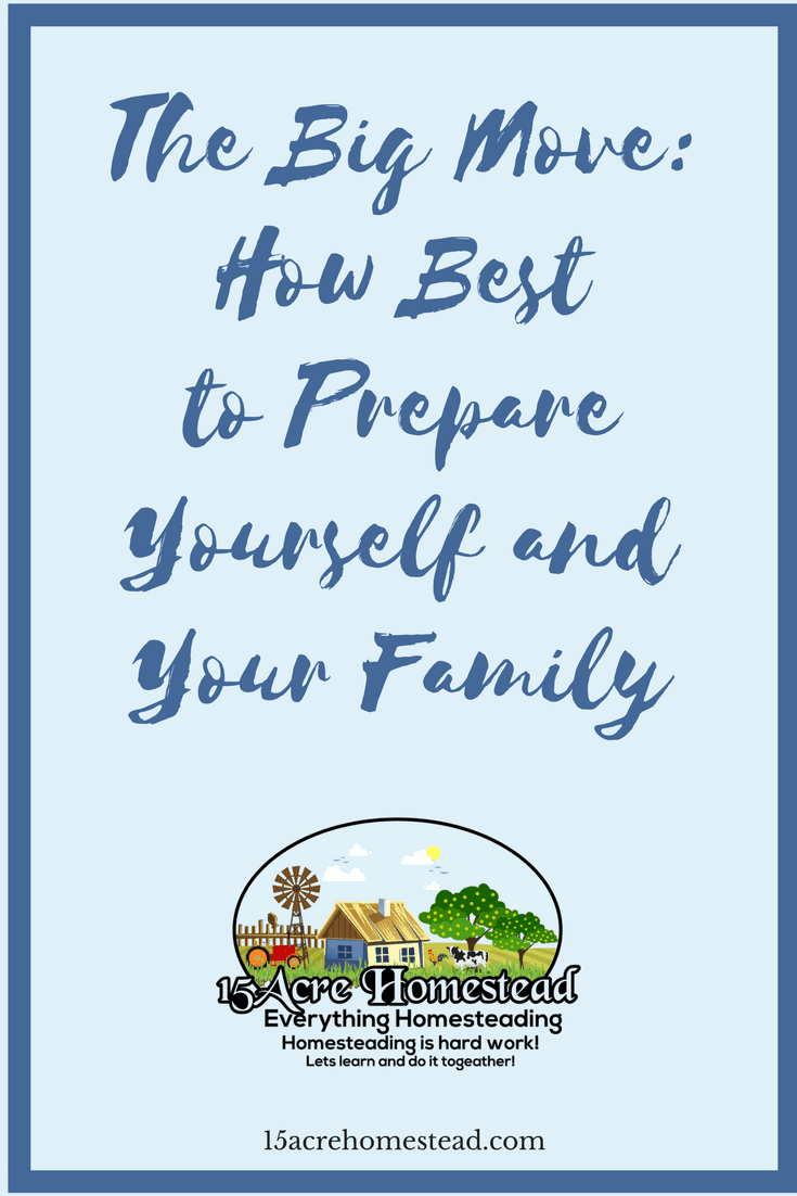 There are some simple ways to prepare yourself and your family for the big move.