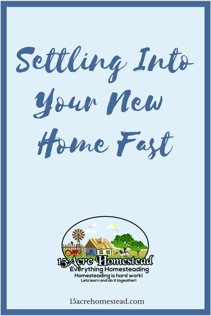 There are three ways you can be settling into your new home fast. These steps are simple and easy.