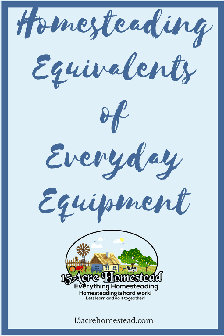 When starting to homestead your choices of everyday equipment can make or break your success.